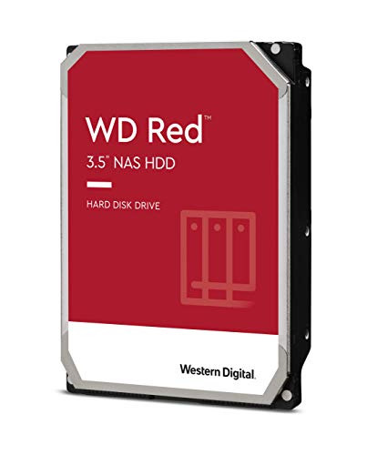 "Western Digital 6TB WD Red NAS Internal Hard Drive HDD - 5400 RPM, SATA 6 Gb/s, SMR, 256MB Cache, 3.5"" - WD60EFAX"