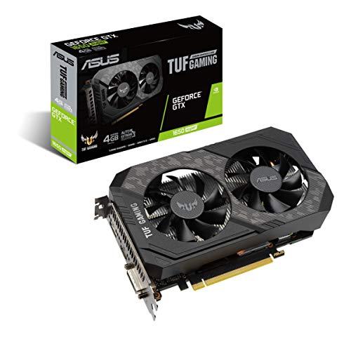 ASUS TUF Gaming GeForce GTX 1650 Super 4GB Edition HDMI DP DVI Gaming Graphics Card (TUF-GTX1650S-4G-GAMING)
