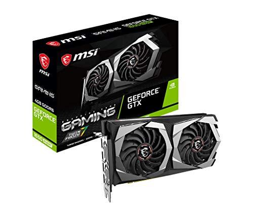 MSI Gaming GeForce GTX 1650 Super 128-Bit HDMI/DP 4GB GDRR6 HDCP Support DirectX 12 Dual Fan VR Ready OC Graphics Card (GTX 1650 Super Gaming X)