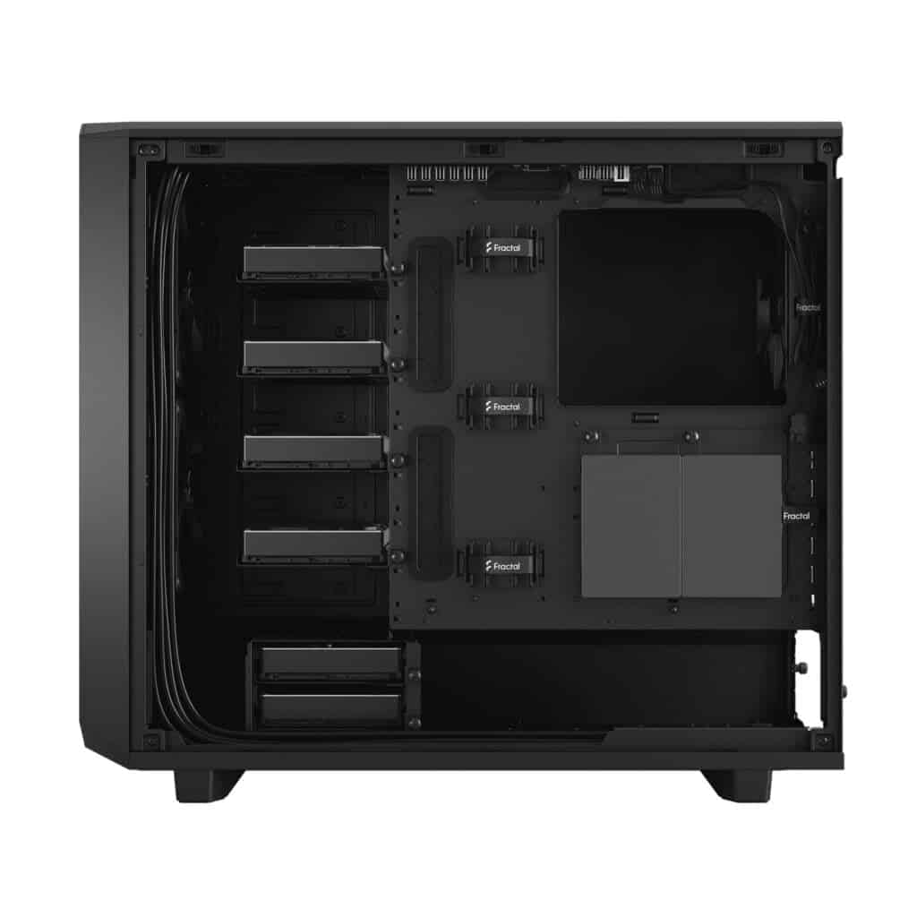 Drive positions for Unraid in the Fractal Design Meshify 2 XL